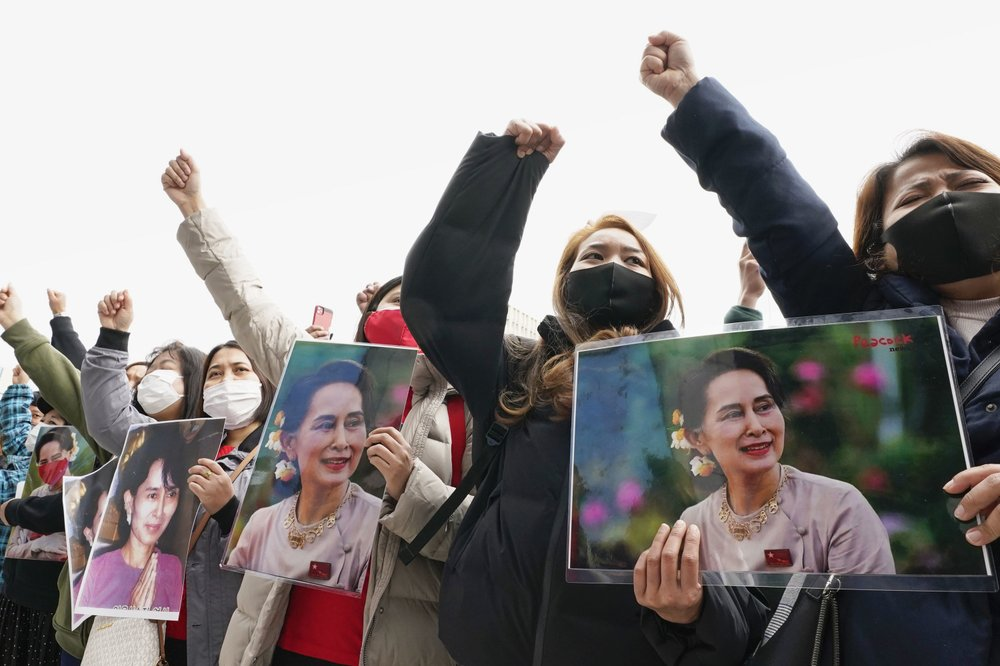 Myanmar NLD calls on the military to release Daw Aung San Suu Kyi and recognize the election results