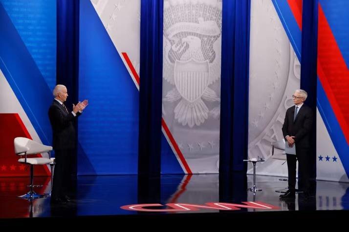 Biden: White supremacists are the biggest terrorist threat in the United States.