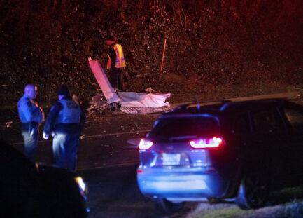 A small passenger plane crashed in Georgia, killing three people.