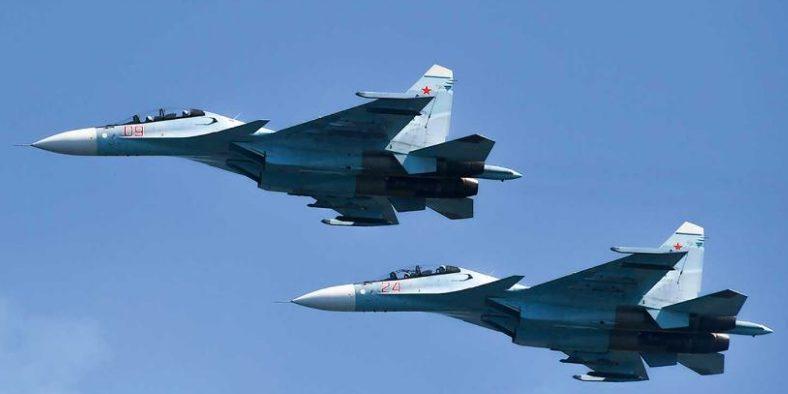 Kazakhstan's Su-30 fighter jet crashed during a training flight