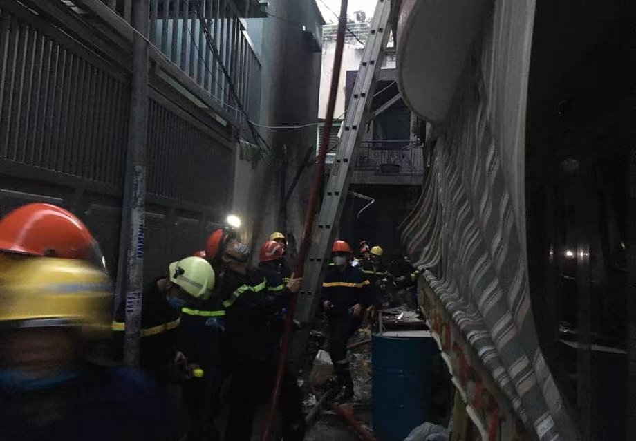 A fire at a single-family building in Ho Chi Minh City, Vietnam, has killed eight people