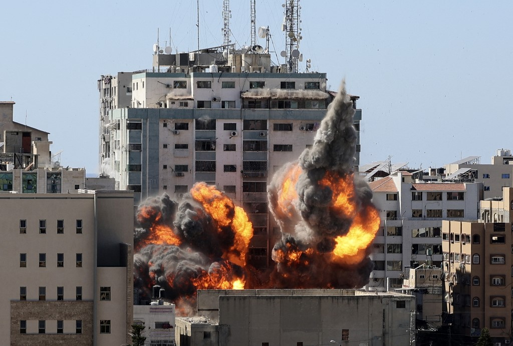 Israel Defense Forces: Bombed Gaza International Media Office Building Is a 'Legitimate Military Target'