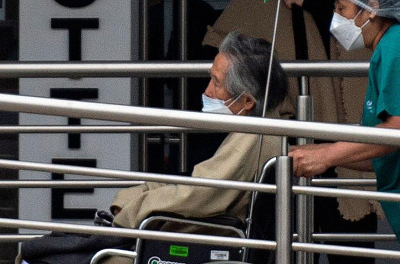 Peru's former president Alberto Fujimori underwent heart stent surgery for a sudden heart attack