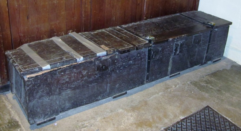 Medieval Chest before renovation by YCPS