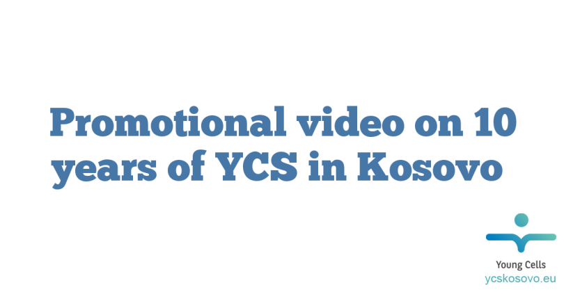 Promotional video on 10 years of YCS in Kosovo