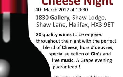 EVENT: Wine and Cheese Night 4 March 2017