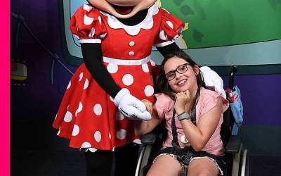 Jessie has amazing time at Disney!