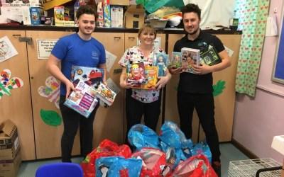 YCT donates presents to BRI