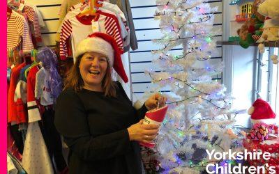 Joanna Makes Festive Donation
