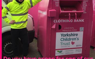 Can you host a clothing bank?