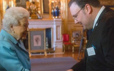 Meeting HM The Queen