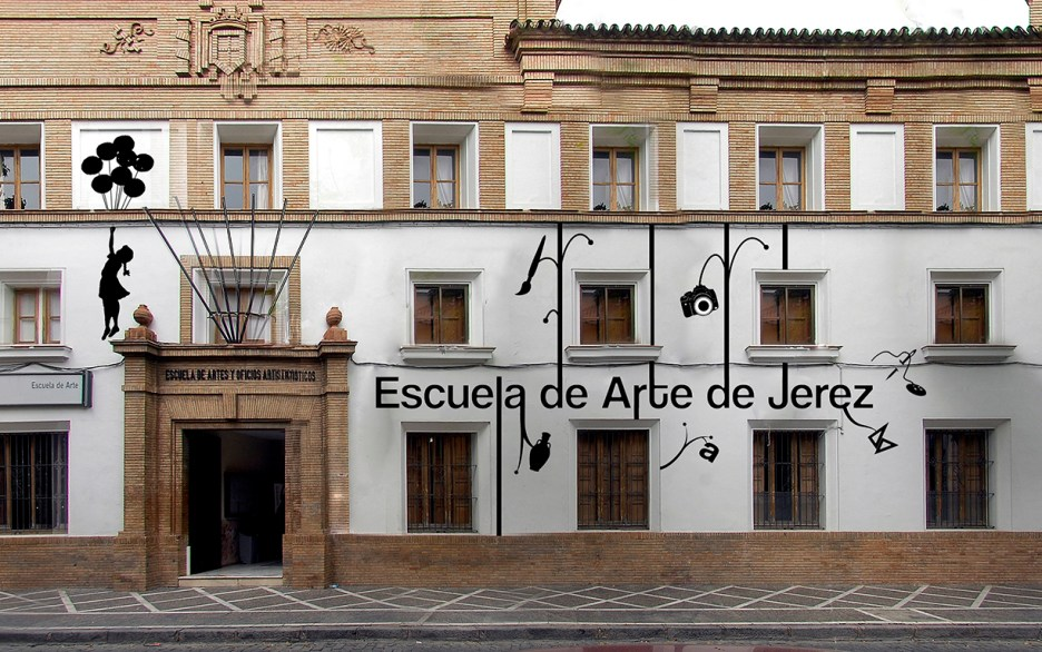 Propuesta de fachada para la escuela de artes de jerez
