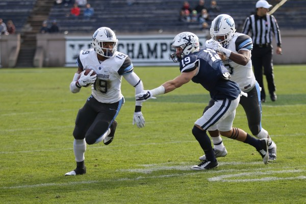 FOOTBALL: Columbia beats Yale for first Ivy win since 2012