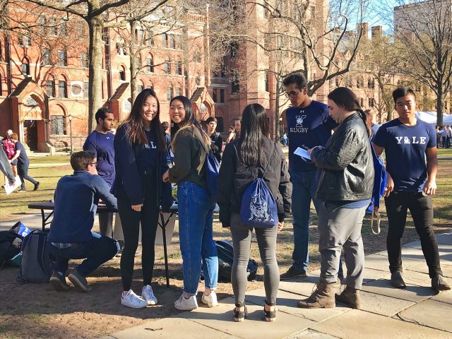 yale holds largest-ever bulldog days
