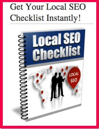 Local SEO checklist lead magnet