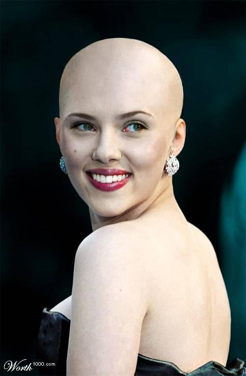 Scarlett Johansson With Shock New Look Yeah Boss