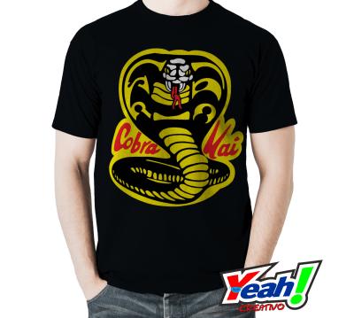 Camiseta cobra kai negra