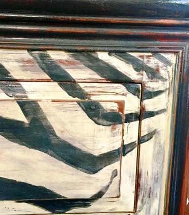 Details of zebra stripes