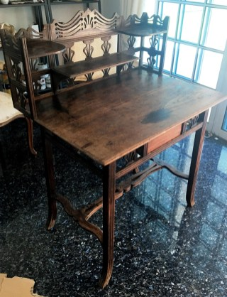 Initial used piece of furniture