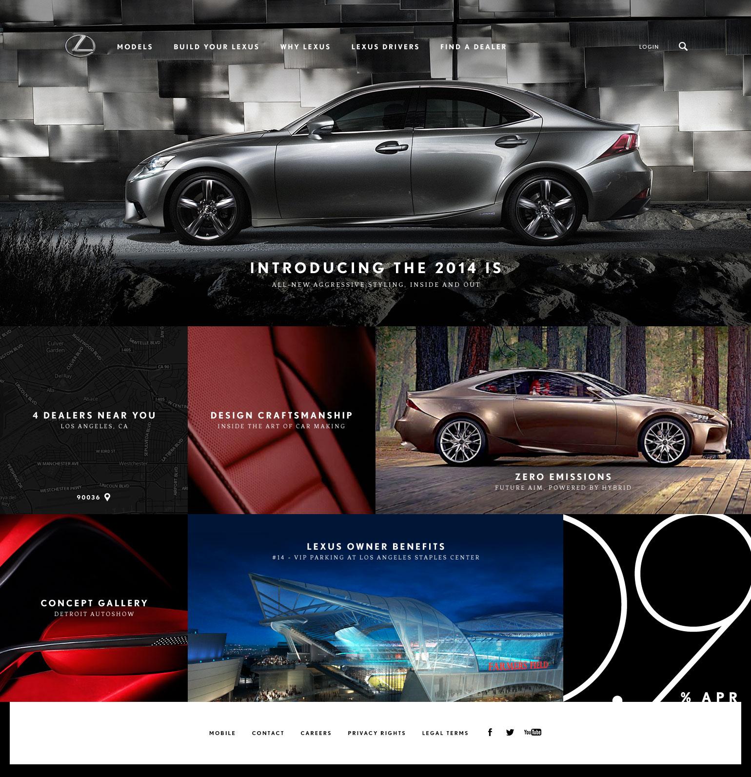 Portfolio of Mark Freeman › Lexus