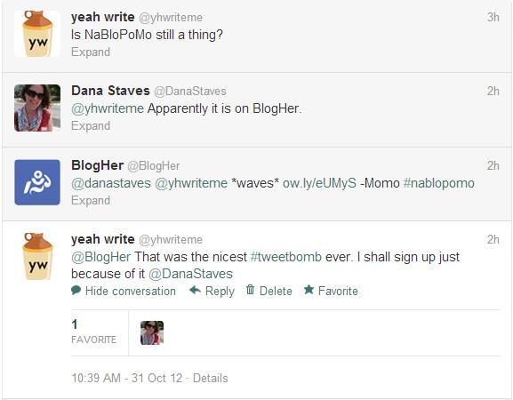 2012 NaBlo tweetbomb