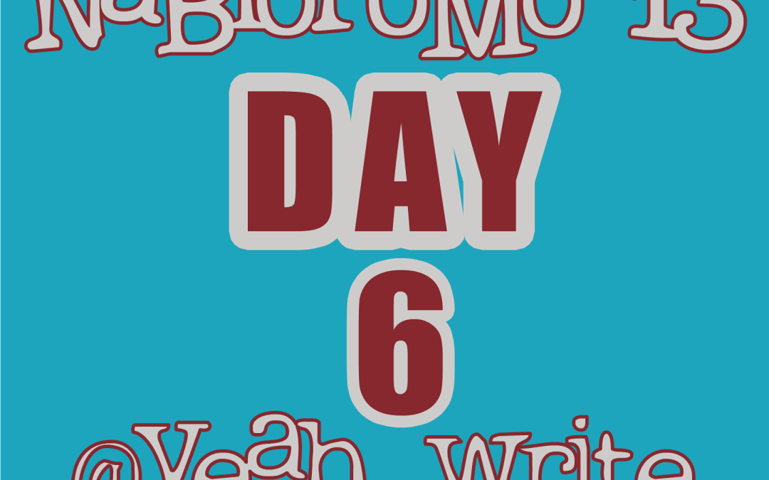"BlogHer's NaBloPoMo at yeah write: Day 6—getting the ""meh"" out"