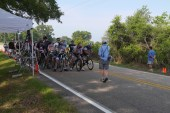 Cat 5 at the start line.