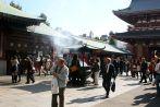 Inside the Sensoji shrine