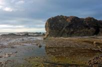 CR Bluff on Beach