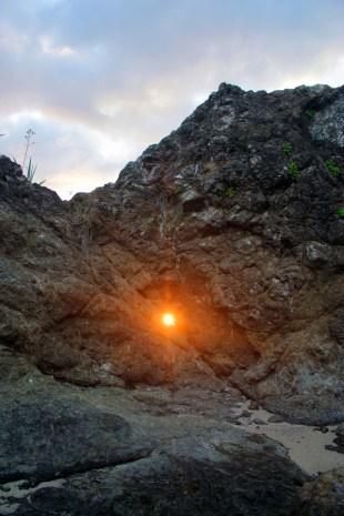 CR Pin Hole Sunset