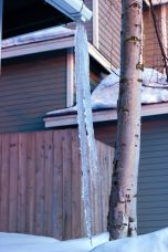 April 13, 2013: Long Icicle