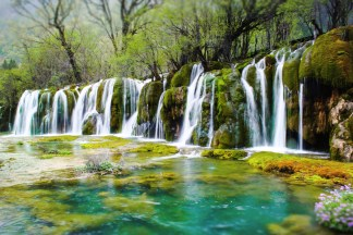 jiuzhaigou-waterfall-long-exp-edit-reduced-opacity-tilt