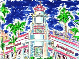 Boston Market, South Beach 12x16 / 2002