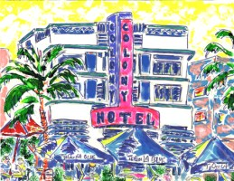 Colony Hotel 16x12 / 2002