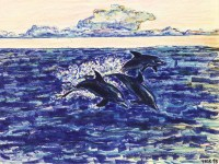 Dolphins 11x8.5 / 1993