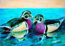 Ducks 10x8 / 2002