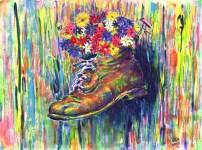 Irina's Boot 30x22 / 2002
