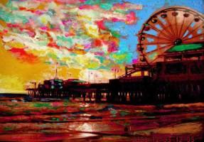 Santa Monica Pier 10x8 / 2008