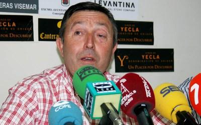 Romero, en la comparecencia de prensa / Á. Ayala