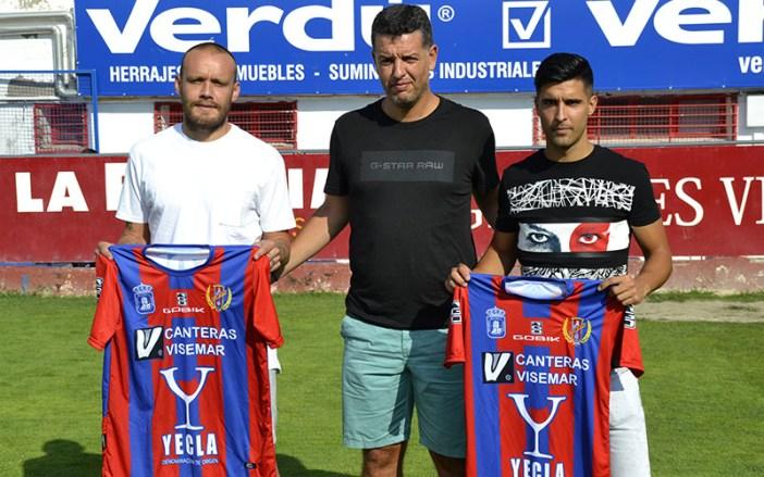 Vaquero y Ruiz, junto a Sandroni