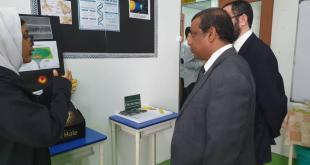 رئيس المجلس التعليمي يزور