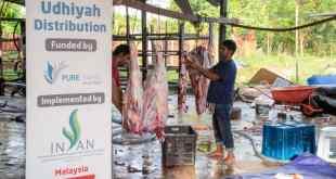 ماليزيا..المبادرة الإغاثية للجالية اليمنية توزع لحوم الأضاحي