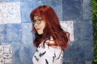 │美髮│  不用漂髮就能染的秋冬質感色–韓妞風靡! 【楓糖紅】  永和染髮推薦