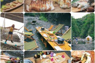   美食  花蓮秘境美食。一同在山溪中享受野餐的樂趣吧! 溪畔餐桌/溪畔町