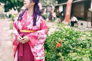 │Wedding│在台灣也能一圓和服婚紗夢。花和服