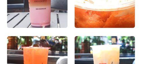 食記◎--【公館】RED SUN紅太陽國際茶飲連鎖專賣店X職人手作。四種手做珍珠與特調飲料