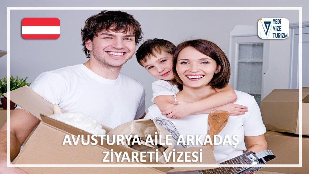 Aile Arkadaş Ziyareti Vizesi Avusturya
