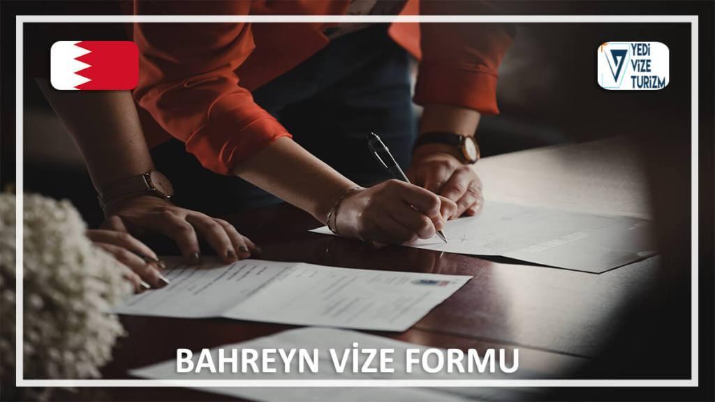 Vize Formu Bahreyn