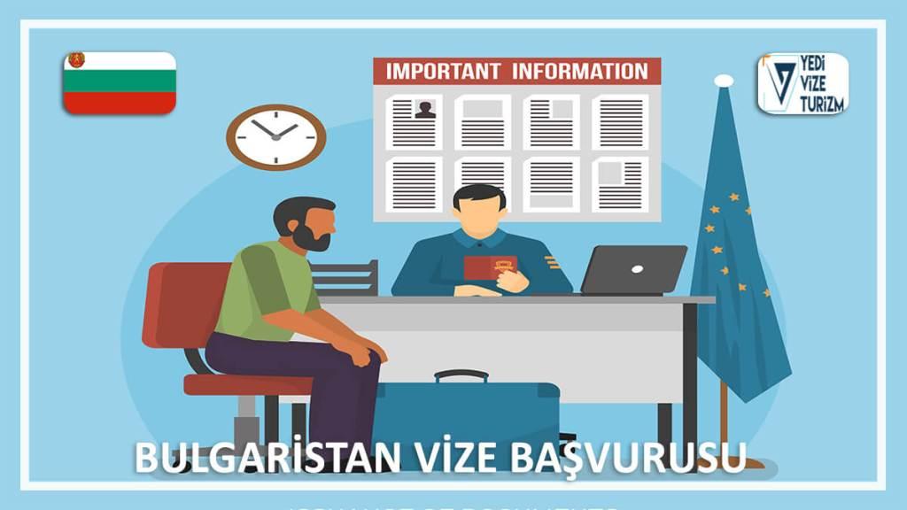 Vize Başvurusu Bulgaristan