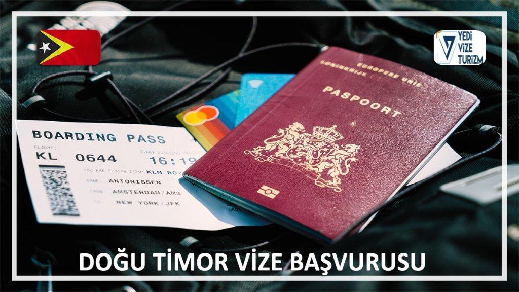 Vize Başvurusu Doğu Timor